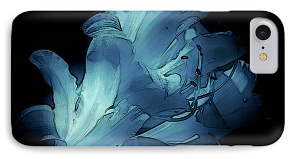 Blue Abstract No. 1 IPhone Case