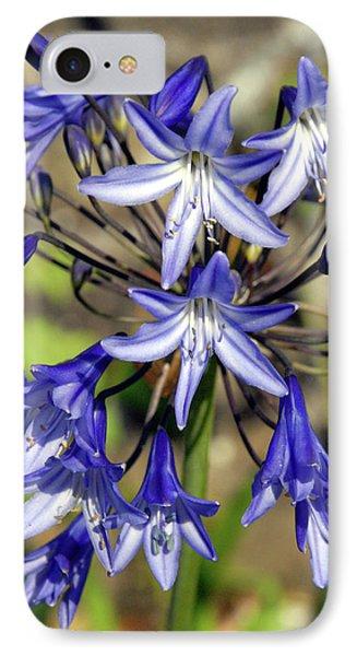 Blue Allium IPhone Case