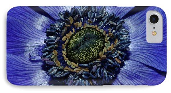 Blue Anemone IPhone Case