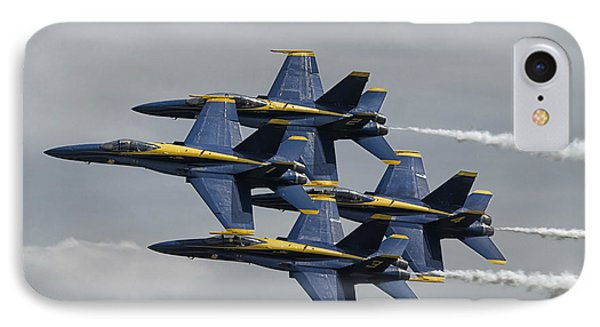 Blue Angels Diamond IPhone Case