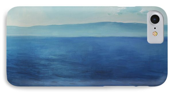 Blue Blue Sky Over The Sea  IPhone Case