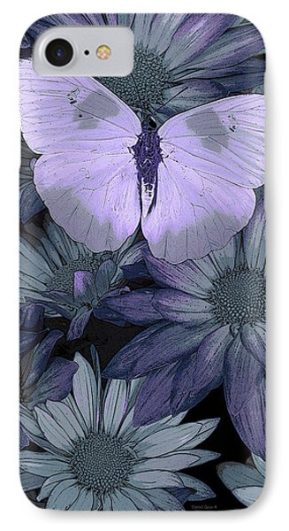 Fairy iPhone 8 Case - Blue Butterfly by JQ Licensing