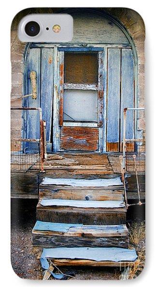 Blue Door Of Riley IPhone Case