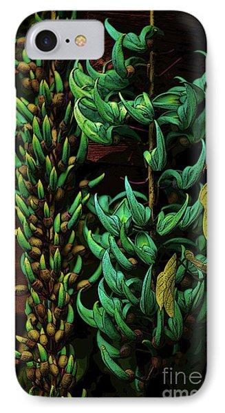 Blue Jade Vine IPhone Case