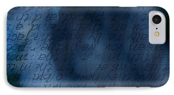 Blue Glimpse IPhone Case