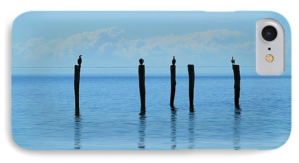 IPhone Case featuring the photograph Blue Horizon by Stephen Mitchell