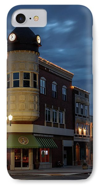 Blue Hour Over The Clock Tower IPhone Case