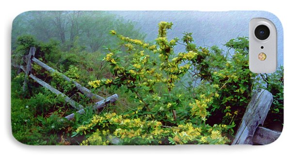 Blue Marsh Dam Fog 003 IPhone Case