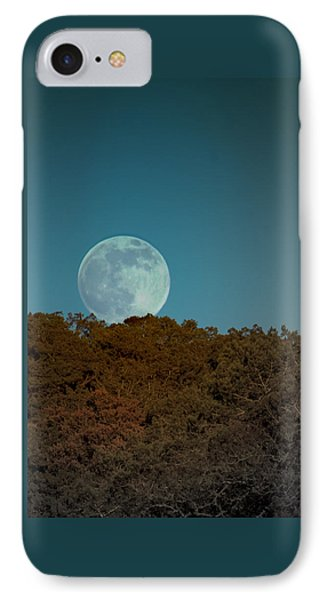 Blue Moon Risign IPhone Case