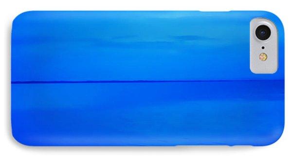 Blue Ocean Twilight IPhone Case