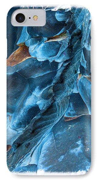 Beach iPhone 8 Case - Blue Pattern 1 by Jonathan Nguyen