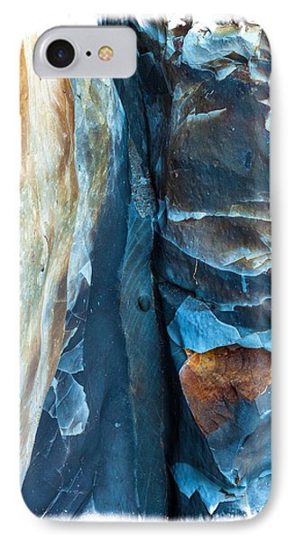 Beach iPhone 8 Case - blue Pattern 2 by Jonathan Nguyen