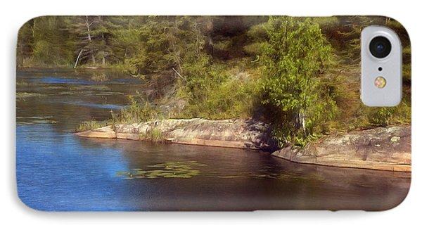 Blue Pond Marsh IPhone Case