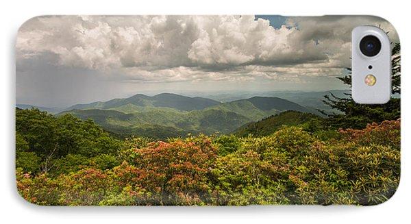 Blue Ridge Parkway Green Knob Overlook IPhone Case