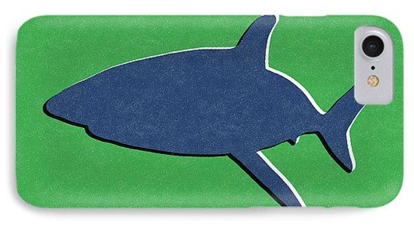 Blue Shark IPhone Case