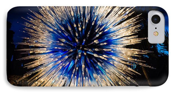 Blue Star At Night IPhone Case
