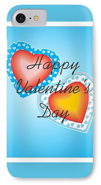 Blue Valentine Lace  IPhone Case
