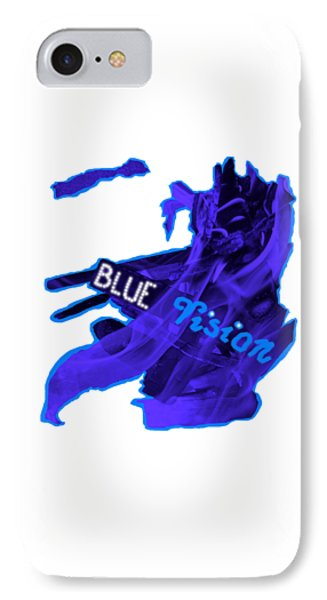 Blue Vision IPhone Case