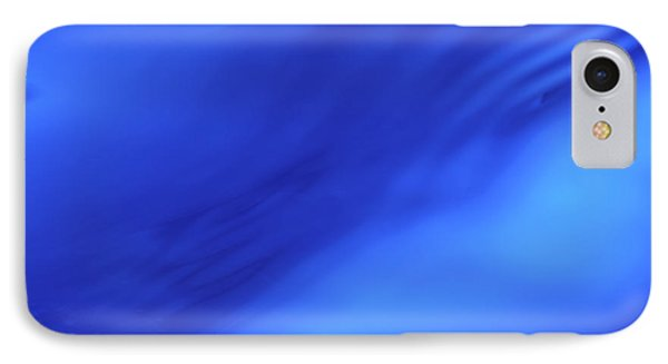 Blue Wave Abstract IPhone Case
