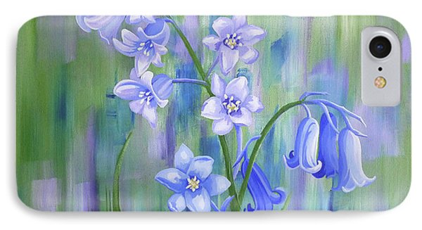 Bluebell Haze IPhone Case