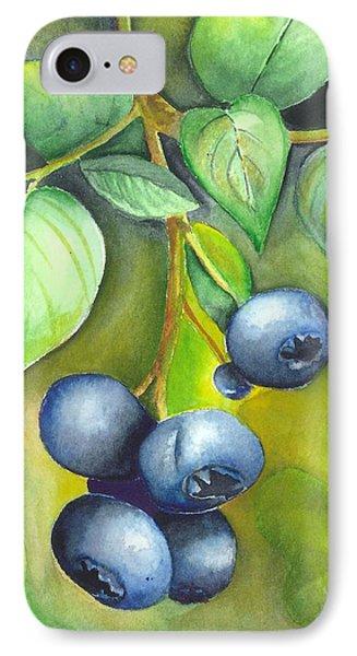 Blueberrries IPhone Case
