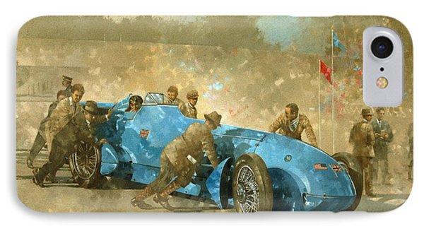 Car iPhone 8 Case - Bluebird by Peter Miller