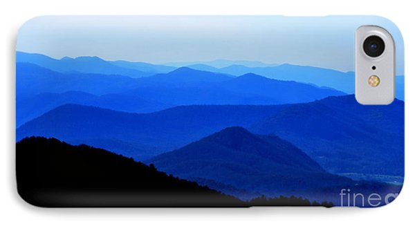 Blueridge Mountains - Parkway View IPhone Case