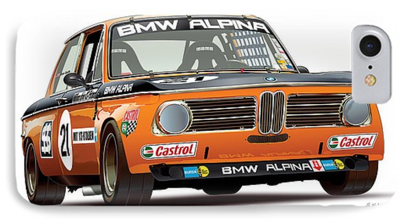 Bmw 2002 Alpina Illustration IPhone Case