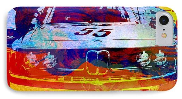Car iPhone 8 Case - Bmw Racing by Naxart Studio