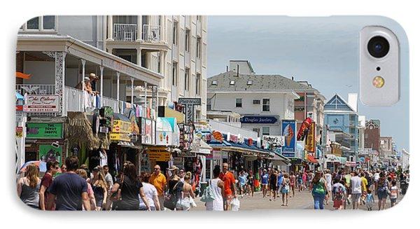 Boardwalk Ocean City Md IPhone Case
