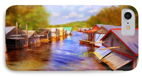Boat Houses IPhone Case