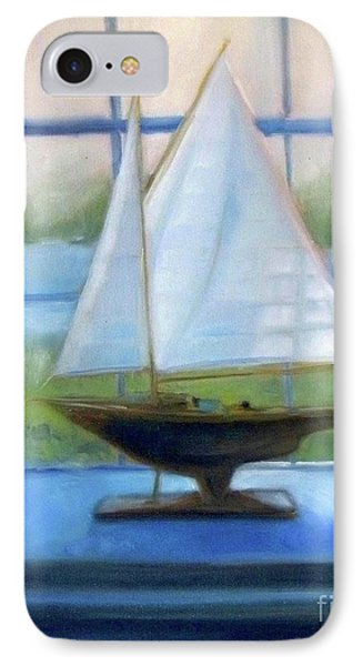Boat In The Window IPhone Case