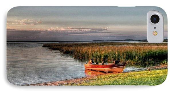 Boat On A Minnesota Lake IPhone Case