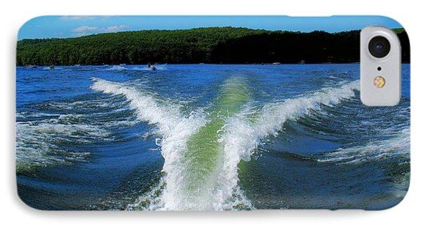 Boat Wake IPhone Case