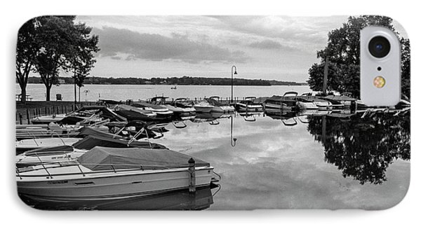 Boats At Wayzata IPhone Case