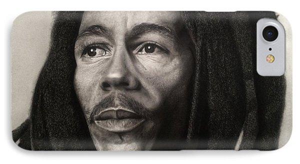 Bob Marley Drawing IPhone Case