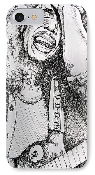 Bob Marley In Ink IPhone Case