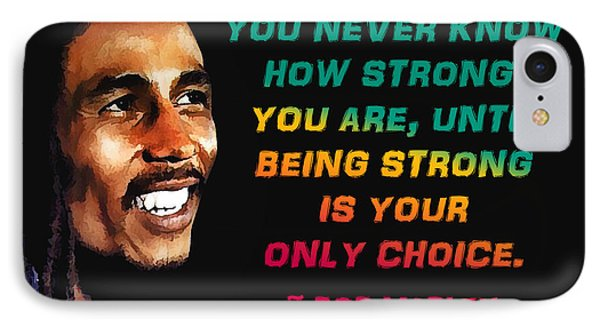 Bob Marley Quote IPhone Case