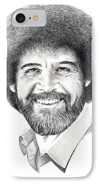 Bob Ross IPhone Case