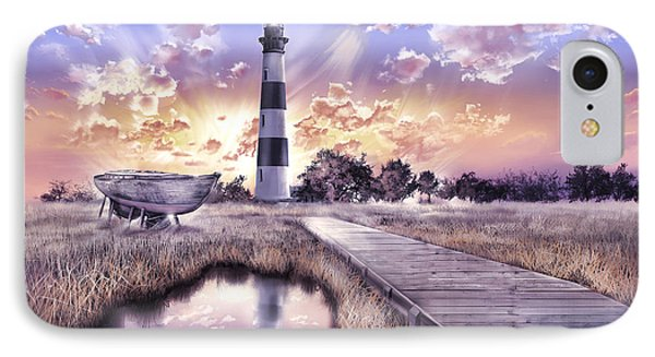 Bodie Island Lighthouse 4 IPhone Case