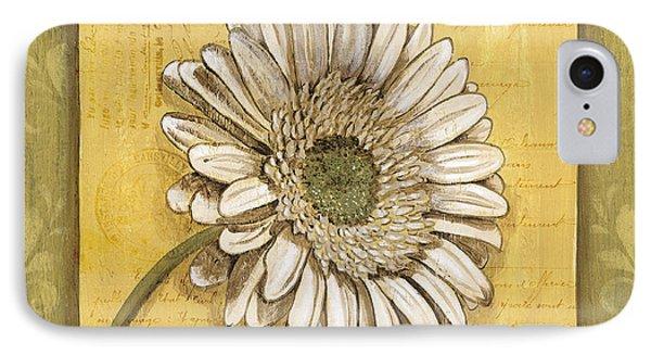 Daisy iPhone 8 Case - Bohemian Daisy 1 by Debbie DeWitt