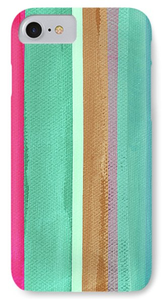 Boho Stripe- Art By Linda Woods IPhone Case