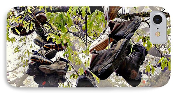 Boot Tree At Neels Gap IPhone Case