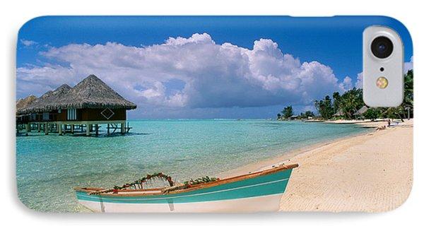 Bora Bora, Hotel Moana IPhone Case