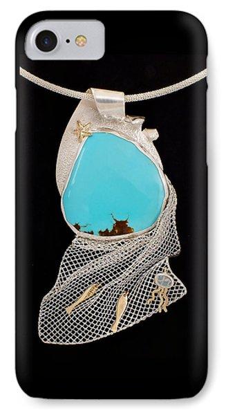Bord De Mer Or Sea Shore Necklace IPhone Case