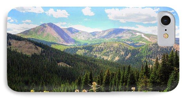Boreas Pass Colorado IPhone Case