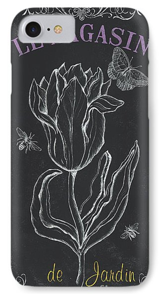 Tulip iPhone 8 Case - Bortanique 4 by Debbie DeWitt