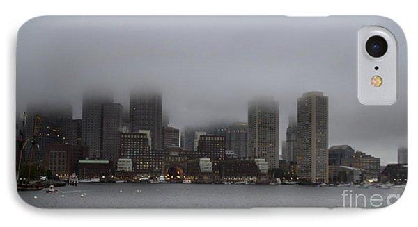 Boston In The Fog IPhone Case