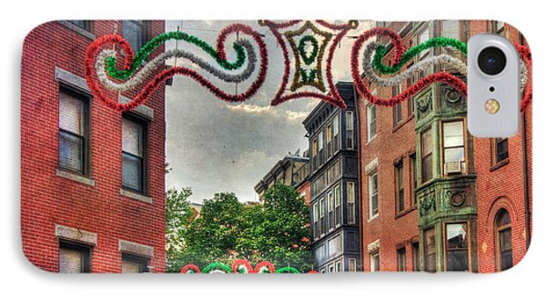 IPhone Case featuring the photograph Boston North End Saint Anthony's Feast by Joann Vitali