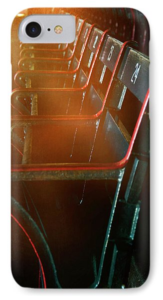 IPhone Case featuring the photograph Boston Red Sox Fenway Park Seats by Joann Vitali